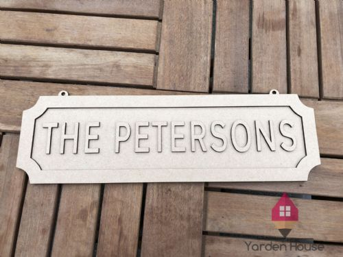 Street Sign PERSONALISED
